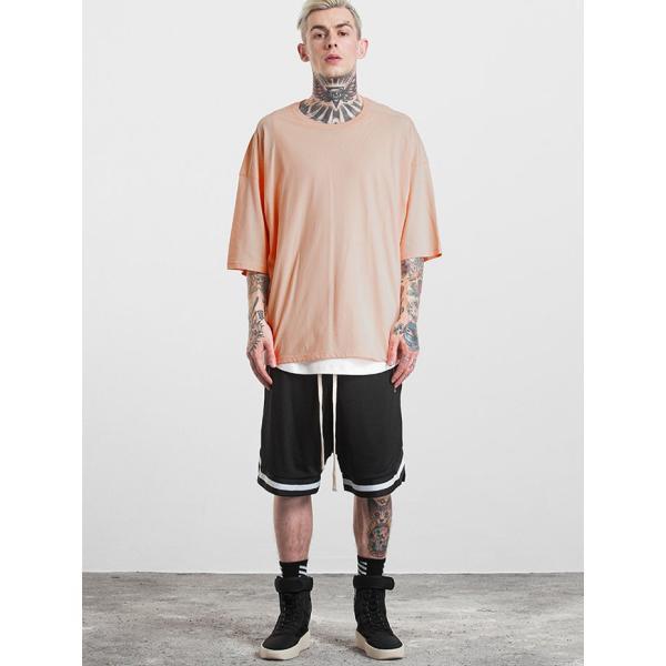 SALE セール Tシャツ 半袖 無地 メンズ レディース ティーシャツ ドライTシャツ 薄手 吸汗速乾 トレーニング スポーツ 大きいサイズ オーバーサイズ シンプル|smilepuraza|08