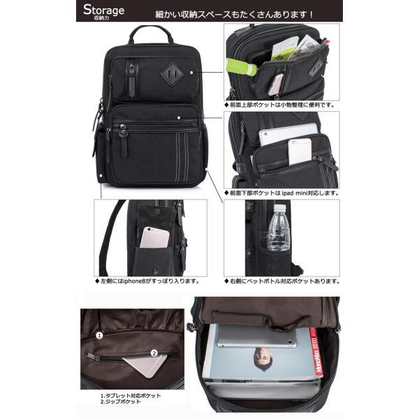 送料無料 ボディバッグ ショルダーバッグ ビッグ ウエストバッグ 斜め掛け ワンショルダー 大容量 メンズ 撥水 肩掛け 通勤 通学 大容量 a4 パソコン メンズ|smilepuraza|15