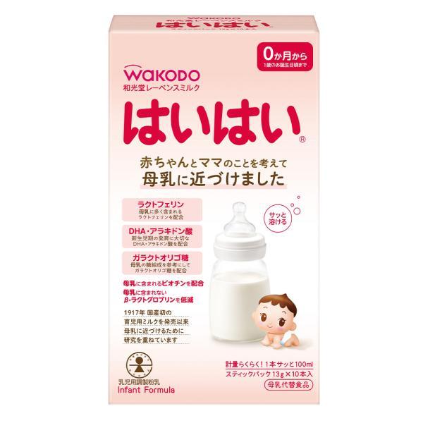 アサヒグループ食品 レーベンスミルク はいはい スティックパック 13g×10×6個