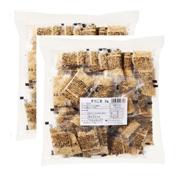 マコト すりごま 個包装 業務用 2g×100P×2個