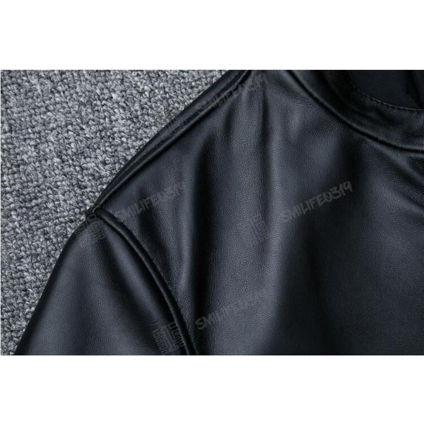 ただ今20%OFFキャンペン実施中 ライダースジャケット メンズ レザージャケット 羊革 ライダース ジャケット シングル ダブルライダース|smilife0319|05