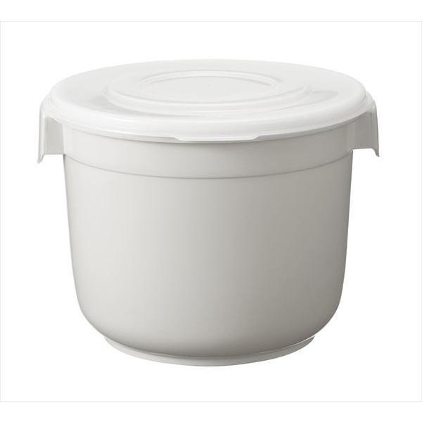 新輝合成 トンボ ぬか漬けにも便利な シール容器 朝市 丸型 8L 8型