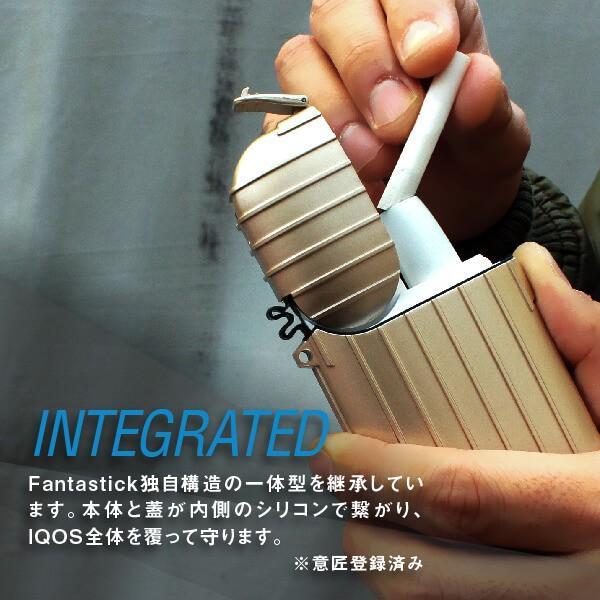 iQOS シリコン ケース アイコス ケース ハードケース  Fantastick iSuit Case 2nd  for iQOS 電子タバコ アイコスカバー メンズ 全部 シール 保護|smodigi|08
