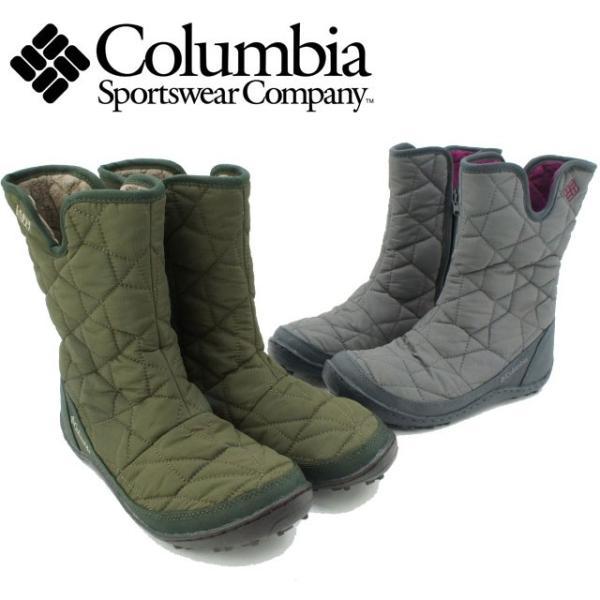コロンビア Columbia レディース メンズ BL1597 ウィメンズミンクススリップIIオムニヒート  長靴 ブーツ スノーシューズ アウトドア 雪道|smw