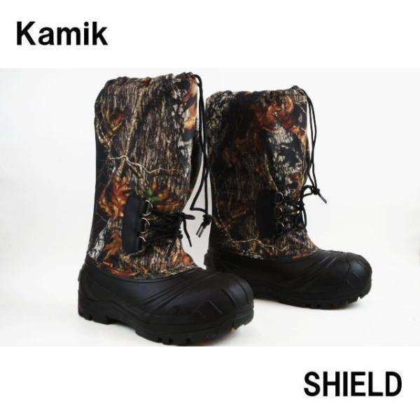 カミック 1600330 シールド 靴 MOSSY OAK Kamik SHIELD スノーブーツ ウィンターブーツ モッシー オーク|smw