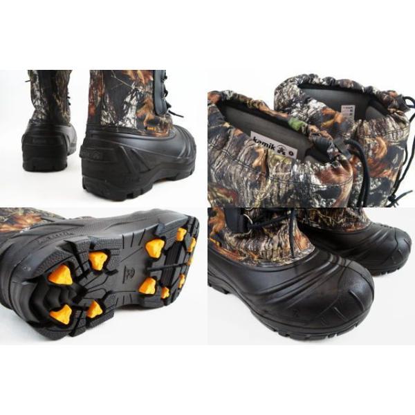 カミック 1600330 シールド 靴 MOSSY OAK Kamik SHIELD スノーブーツ ウィンターブーツ モッシー オーク|smw|02