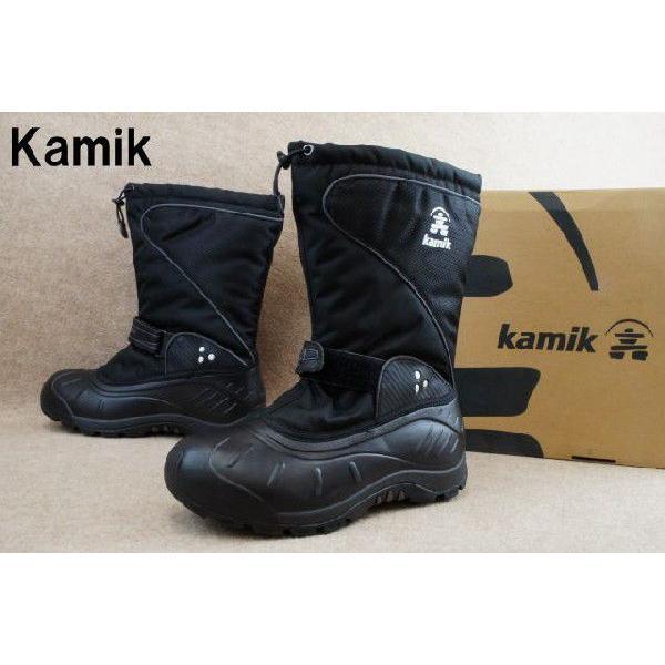 カミック 靴 1600336 バルトロ2 BLACK-NOIR/ Kamik BALTORO2 メンズ ブーツ スノーブーツ ウィンターブーツ ブラック smw