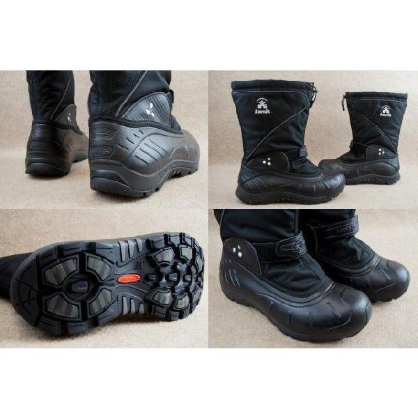 カミック 靴 1600336 バルトロ2 BLACK-NOIR/ Kamik BALTORO2 メンズ ブーツ スノーブーツ ウィンターブーツ ブラック smw 02