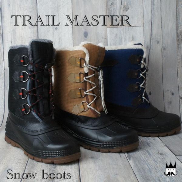 スノーシューズ メンズ スノーブーツ TR-004 雪靴  防寒  長靴 4E|smw