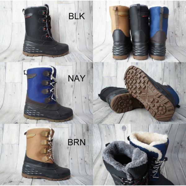 スノーシューズ メンズ スノーブーツ TR-004 雪靴  防寒  長靴 4E|smw|02