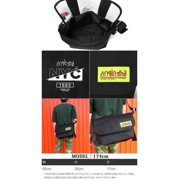 マンハッタンポーテージ Manhattan Portage バッグ メンズ レディース MP1606V-JR-FVL-NYC-19FW リミデッド ショルダーバッグ 斜め掛け 防水|smw|03