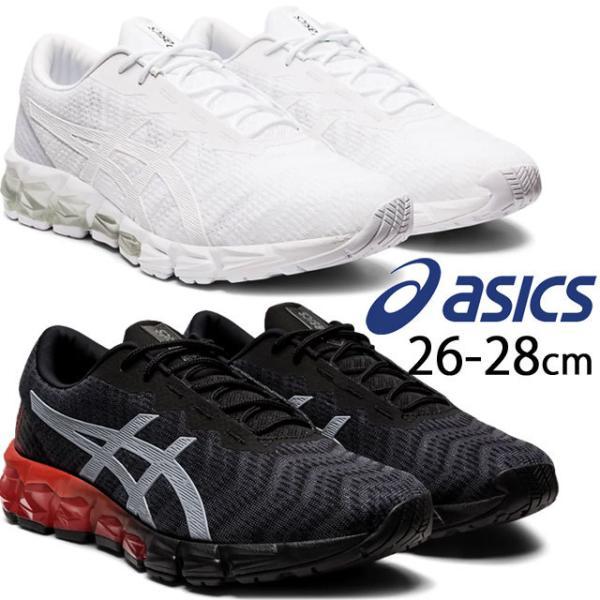 アシックスasicsメンズスニーカーゲル-クアンタム1805ローカットランニングシューズ運動靴紐靴1021A185002ブラック