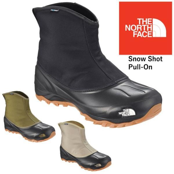 ザ・ノースフェイス THE NORTH FACE スノーブーツ メンズ レディース NF51861 大雪 防水 ウインターブーツ ショートブーツ スノーショット プル-オン|smw