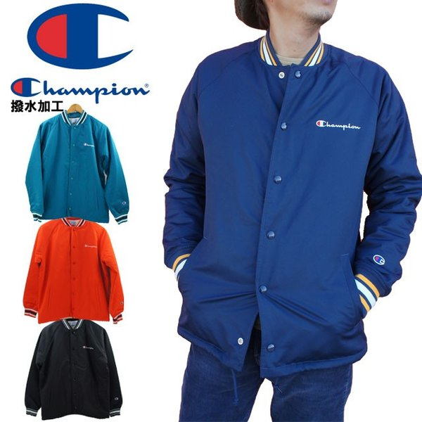 チャンピオン Champion スナップジャケット メンズ C3-L611 アクションスタイル トップス アウター ウィンド ブレーカー 長袖