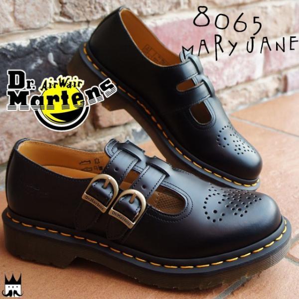 ドクターマーチン Dr.Martensレディース メリージェーン 8065 MARY JANE ブラック