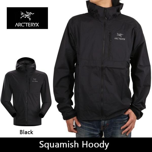 arcteryx アークテリクス アウター Squamish Hoody Black 13647|snb-shop