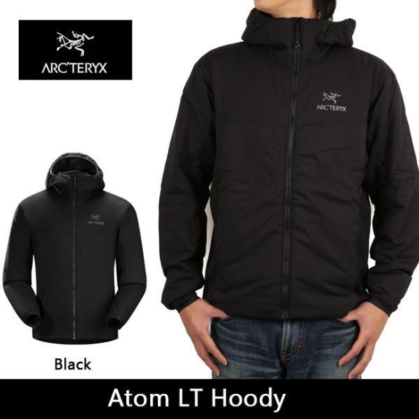 arcteryx アークテリクス アウター Atom LT Hoody Black 14644|snb-shop