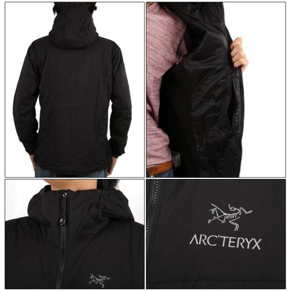 arcteryx アークテリクス アウター Atom LT Hoody Black 14644|snb-shop|02