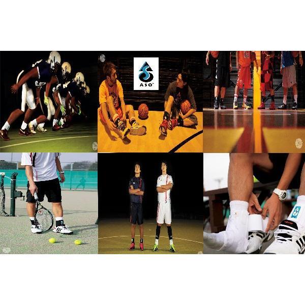 ASO エーエスオー 左右兼用 オールスポーツ 世界基準足首用サポーター 世界NO.1シェア (ハイグレードハードタイプ)|snb-shop|02