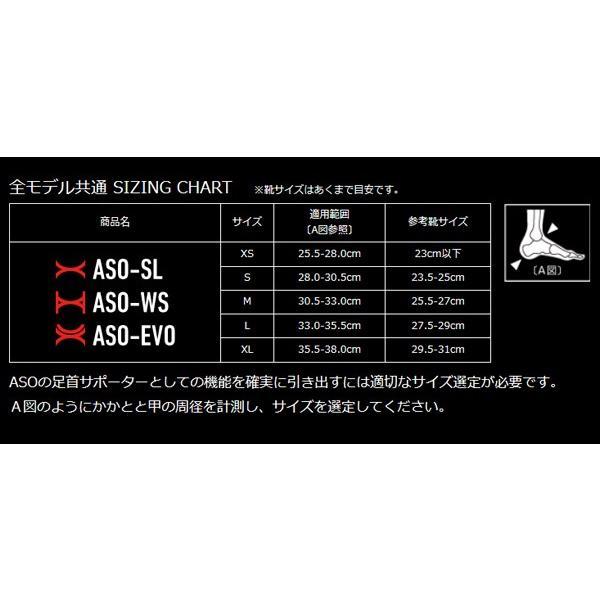 ASO エーエスオー 左右兼用 オールスポーツ 世界基準足首用サポーター 世界NO.1シェア (ハイグレードハードタイプ)|snb-shop|03