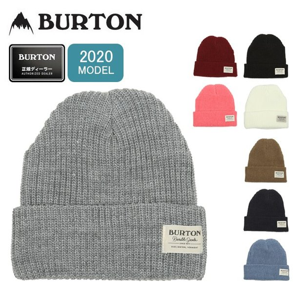 バートン BURTON 2020 JPN BURTON VT.BN 176581  【ビーニー/ニット帽/スノーボード/日本正規品】【メール便・代引不可】