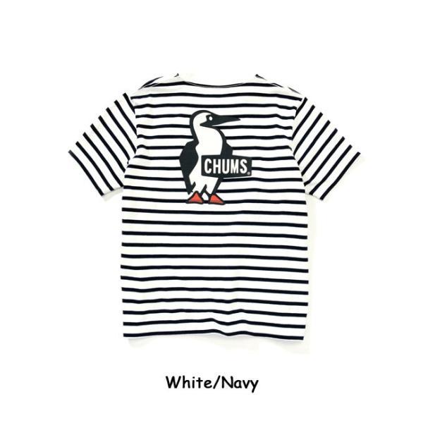チャムス chums Tシャツ Booby Logo T-Shirt ブービーロゴTシャツ CH01-1326 メンズ 正規品【服】【t-cnr】【メール便発送・代引き不可】|snb-shop|05
