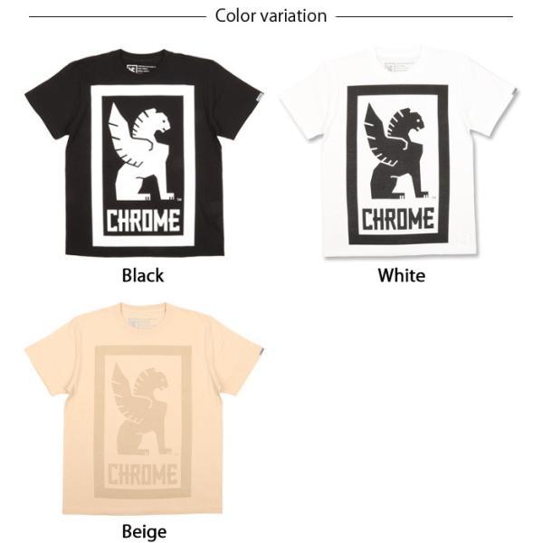 CHROME クローム Tシャツ BIG LOCKUP TEE(ビッグロックアップTEE) JP044 【服】【t-cnr】ファッション アウトドア フェス【メール便・代引不可】|snb-shop|02