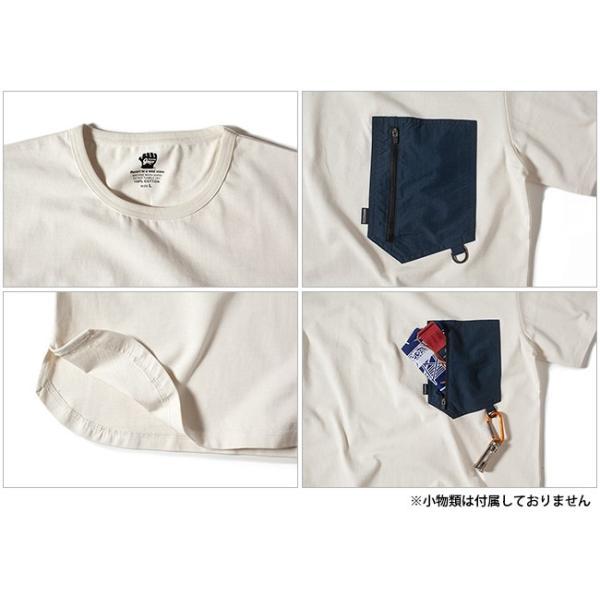 GRIP SWANY グリップスワニー GEAR POCKET T SHIRT GSC-27 【半袖/Tシャツ/アウトドア】【メール便・代引不可】|snb-shop|03