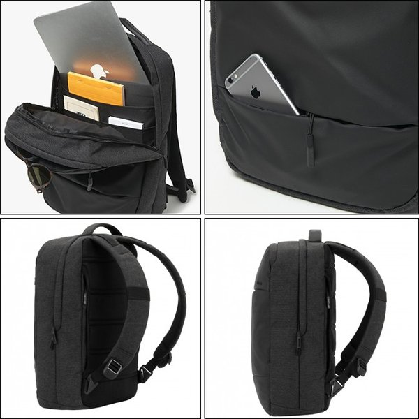 INCASE インケース City Compact Backpack with Coated Canvas Limited Model INBP100544/37191020 【限定モデル/ビジネス/リュック/バックパック/アウトドア】|snb-shop|02