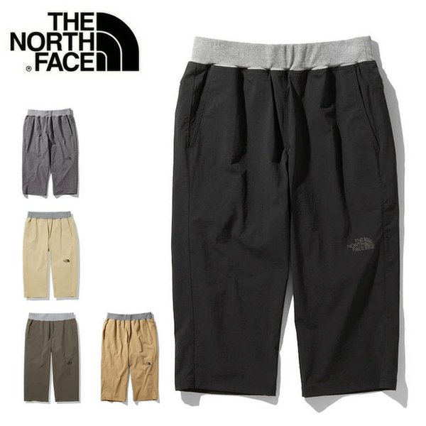 THE NORTH FACE ノースフェイス Training Rib Cropped Pants トレーニングリブクロップドパンツ NB32081 【ボトムス/メンズ/スポーツ/アウトドア】