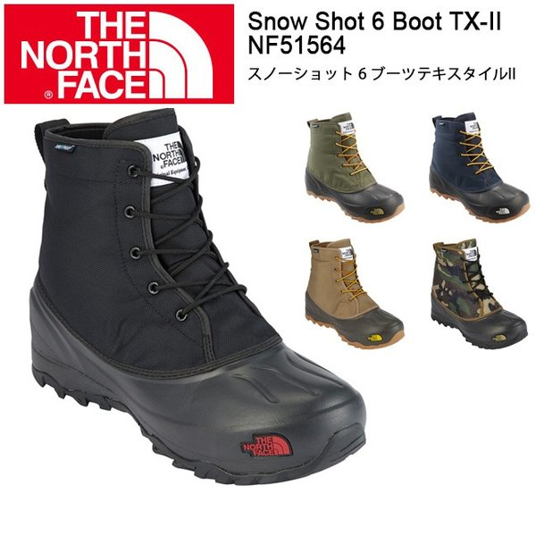 ノースフェイス ブーツ THE NORTH FACE スノーショット 6 ブーツテキスタイルII Snow Shot 6 Boot TX-II/NF51564|snb-shop