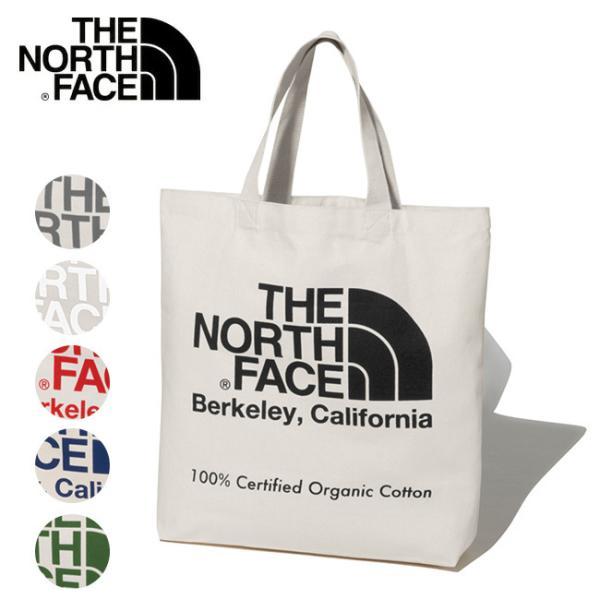 THE NORTH FACE ノースフェイス TNF Organic Cotton Tote オーガニックコットントート NM81971 【日本正規品/バッグ/手提げ/アウトドア/スポーツ】