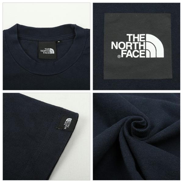 THE NORTH FACE ノースフェイス S/S SMALL SQUARE L スモールスクエアL NT31900 【日本正規品/Tシャツメンズ/半袖 】【メール便・代引不可】 snb-shop 03