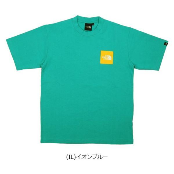 THE NORTH FACE ノースフェイス S/S SMALL SQUARE L スモールスクエアL NT31900 【日本正規品/Tシャツメンズ/半袖 】【メール便・代引不可】 snb-shop 04