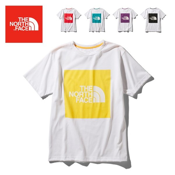 THE NORTH FACE ノースフェイス S/S Colored Big Logo Tee ショートスリーブカラードビッグロゴティー NT32043 【Tシャツ/半袖】【メール便・代引不可】