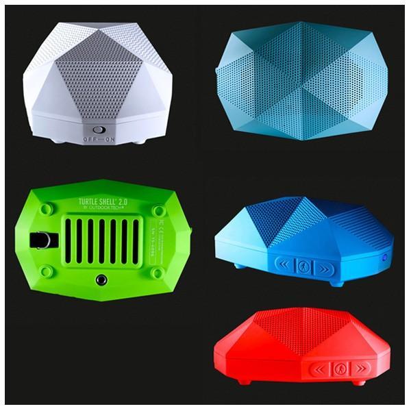 Outdoor Technology アウトドアテクノロジー スピーカー TURTLE SHELL 2.0/3100100990990/WHITE/ノベルティ トライアングルスピーカー付|snb-shop|03
