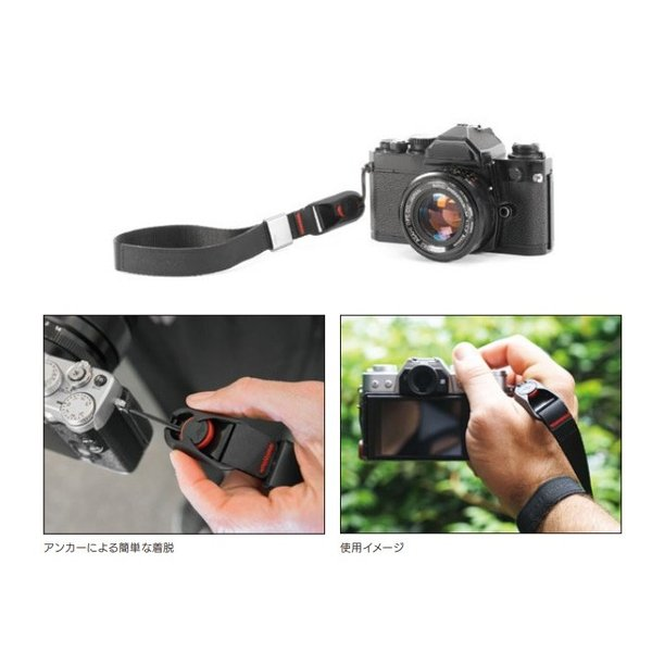 Peak Design ピークデザイン カフリストストラップ Cuff CF-BL-3/CF-AS-3 【カメラストラップ/カメラアクセサリー/一眼レフ/カメラ 】【メール便・代引不可】|snb-shop|02