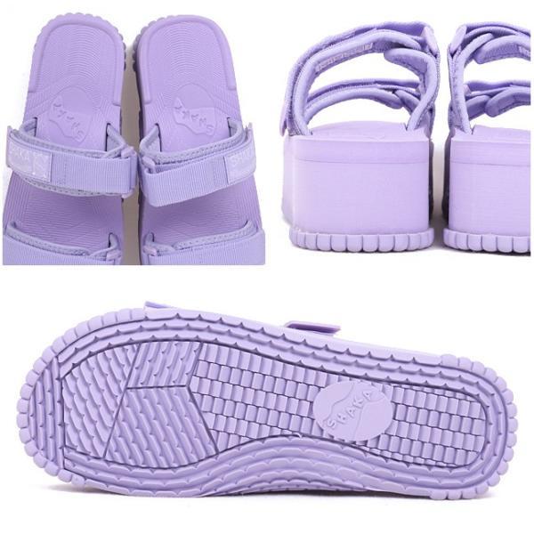 SHAKA/シャカ サンダル BUNGY SLIDE PLATFORM 433046w 【靴】日本正規品 メンズ レディース ブラック カジュアル オーシャンズ ビギン サファリ