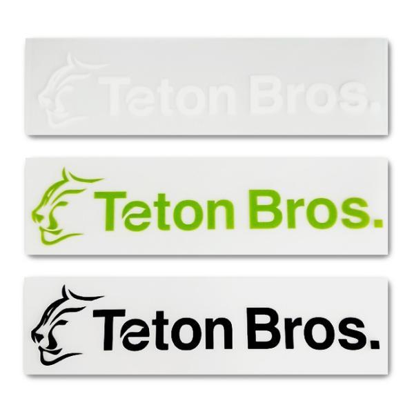 Teton Bros ティートンブロス TB Sticker(6枚入り) TB183-999999 【アウトドア/ステッカー/シール】 snb-shop 02