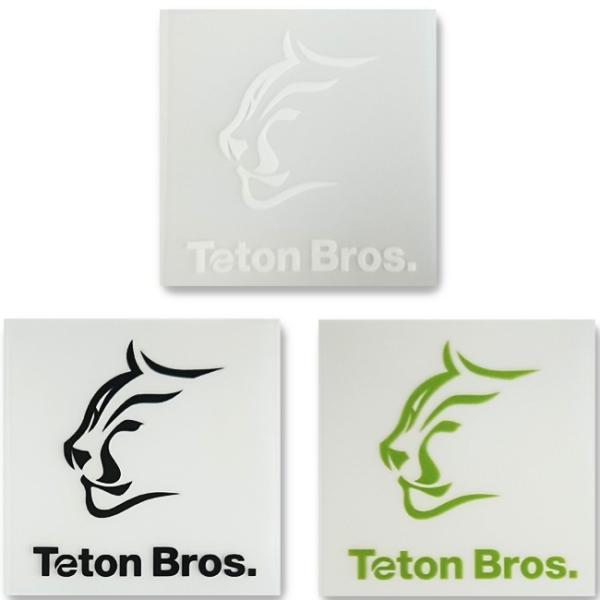 Teton Bros ティートンブロス TB Sticker(6枚入り) TB183-999999 【アウトドア/ステッカー/シール】 snb-shop 03