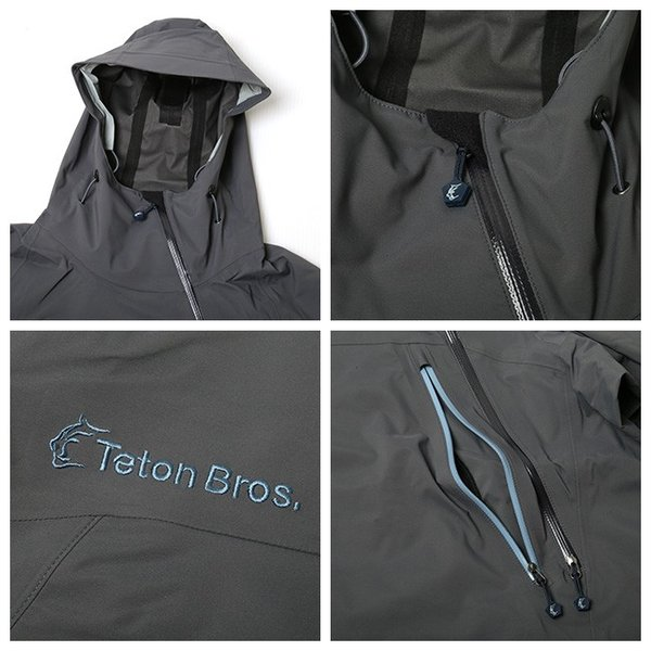 Teton Bros ティートンブロス Tsurugi Lite Jacket KB TB191-030 【フーディ/ジャケット/アウトドア/メンズ】|snb-shop|02