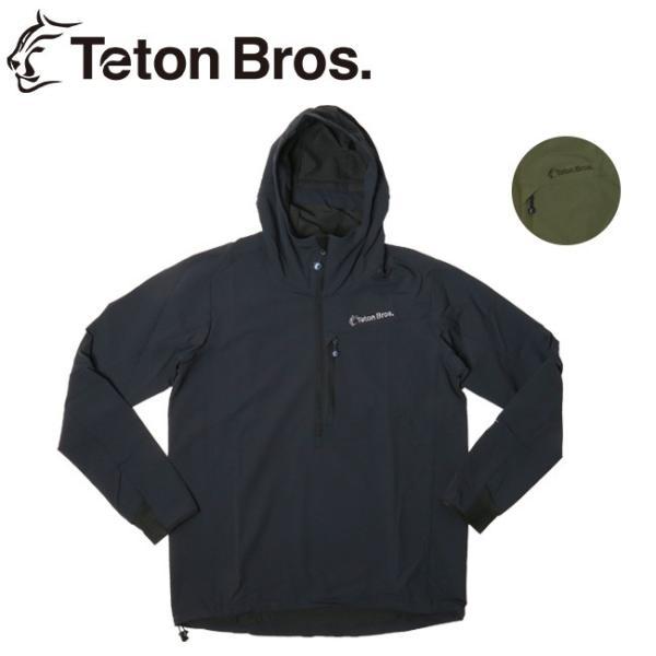 Teton Bros ティートンブロス Long Trail Anorak (Men) TB191-100 【アウター/アノラック/トレイル/ランニング/ハイキング/クライミング/撥水性】|snb-shop