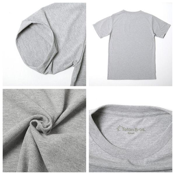 Teton Bros ティートンブロス Srandard Logo Tee TB191-450 【Tシャツ/半袖/メンズ/アウトドア/フェス】【メール便・代引不可】 snb-shop 02