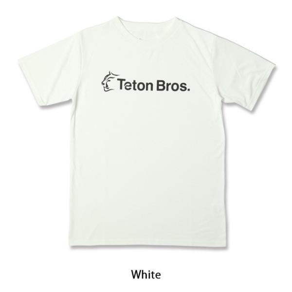Teton Bros ティートンブロス Srandard Logo Tee TB191-450 【Tシャツ/半袖/メンズ/アウトドア/フェス】【メール便・代引不可】 snb-shop 04