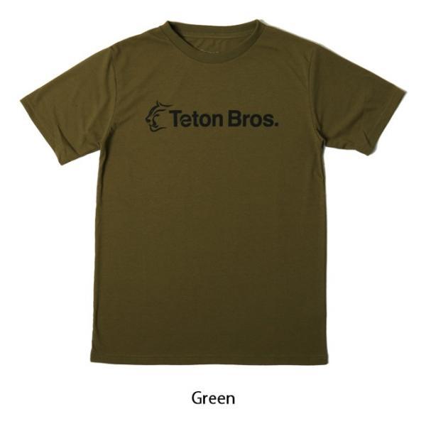 Teton Bros ティートンブロス Srandard Logo Tee TB191-450 【Tシャツ/半袖/メンズ/アウトドア/フェス】【メール便・代引不可】 snb-shop 05