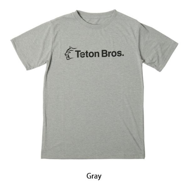 Teton Bros ティートンブロス Srandard Logo Tee TB191-450 【Tシャツ/半袖/メンズ/アウトドア/フェス】【メール便・代引不可】 snb-shop 06