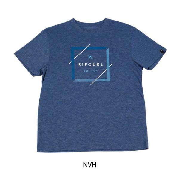リップカール RIP CURL Tシャツ DIVIDER HEATHER TEE U01-214 【服】【t-cnr】【メール便・代引不可】|snb-shop|04