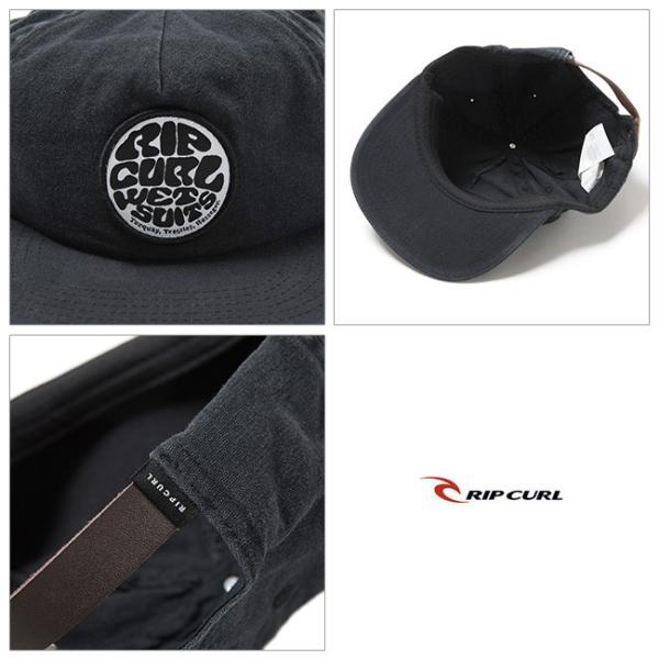 RIP CURL リップカール WASHED WETTY SNAP BACK CAP U02-908 【アウトドア/帽子/キャップ】|snb-shop|02