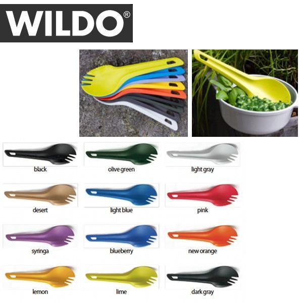WILDO/ウィルド Spork アウトドア スプーン フォーク ナイフ 日本正規品 snb-shop