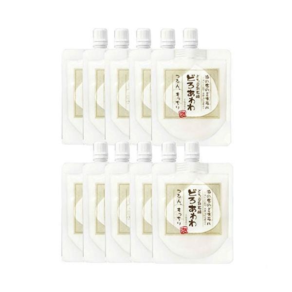 どろあわわ 洗顔 泡 泡洗顔 110g 10個セット 健康コーポレーション|snc